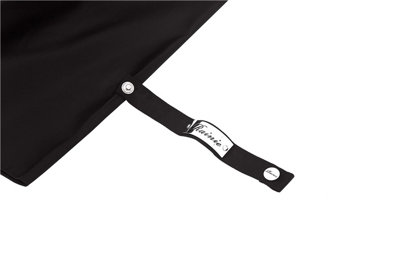 Black eight billiards folding umbrella