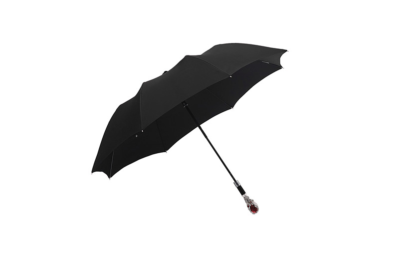 Ruby folding umbrella